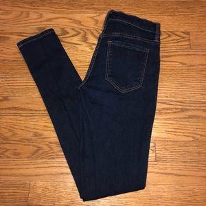 Banana Republic high waisted skinny jeans